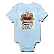Fitz Oliver Coat of Arms Infant Creeper