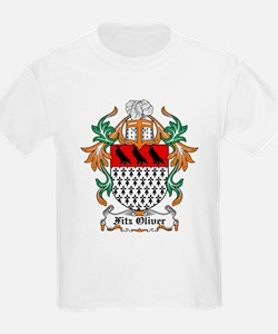 Fitz Oliver Coat of Arms Kids T-Shirt