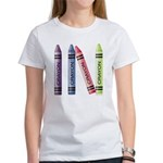 Four Crayons Women's T-Shirt
