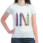 Four Crayons Jr. Ringer T-Shirt