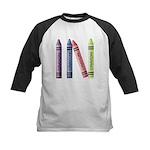 Four Crayons Kids Baseball Jersey