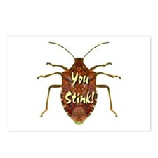 You Stink Stink Bug Postcards (Package of 8)