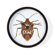 You Stink Stink Bug Wall Clock