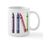 Four Crayons Mug
