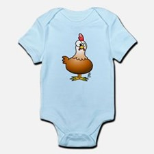 Cheerful Chicken - Hen Infant Bodysuit