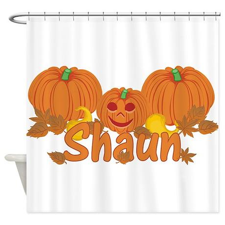 Halloween Pumpkin Shaun Shower Curtain By Sunnydaysboys