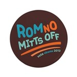 "RomNO Mitts Off 3.5"" Button (100 pack)"