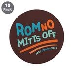 "RomNO Mitts Off 3.5"" Button (10 pack)"