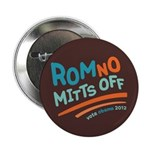 "RomNO Mitts Off 2.25"" Button"