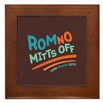 RomNO Mitts Off Framed Tile