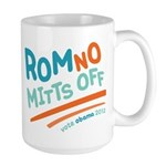 RomNO Mitts Off Large Mug