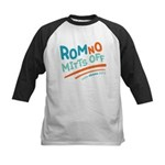 RomNO Mitts Off Kids Baseball Jersey