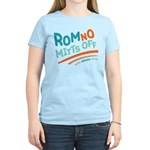 RomNO Mitts Off Women's Light T-Shirt