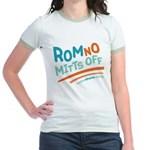 RomNO Mitts Off Jr. Ringer T-Shirt