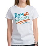 RomNO Mitts Off Women's T-Shirt