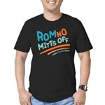 RomNO Mitts Off Men's Fitted T-Shirt (dark)