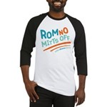 RomNO Mitts Off Baseball Jersey