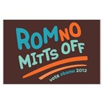 RomNO Mitts Off Large Poster