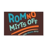 RomNO Mitts Off 20x12 Wall Decal
