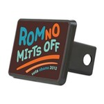 RomNO Mitts Off Rectangular Hitch Cover