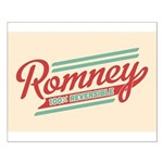 Romney Reversible Small Poster