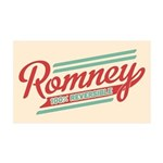 Romney Reversible 35x21 Wall Decal