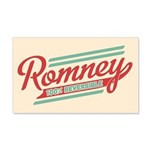 Romney Reversible 20x12 Wall Decal