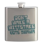 Dont Make Mittstake Flask