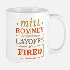 Romney Layoffs Mug