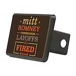 Romney Layoffs Rectangular Hitch Cover