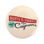 "Invest in Caymans 3.5"" Button (100 pack)"