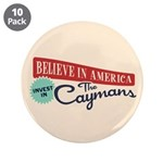 "Invest in Caymans 3.5"" Button (10 pack)"