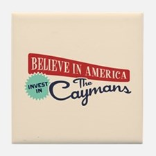 Invest in Caymans Tile Coaster