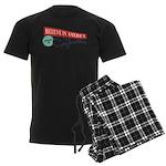 Invest in Caymans Men's Dark Pajamas