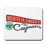 Invest in Caymans Mousepad