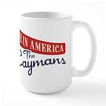 Invest in Caymans Large Mug