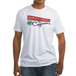 Invest in Caymans Fitted T-Shirt