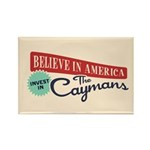 Invest in Caymans Rectangle Magnet (10 pack)