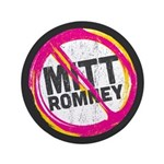 "Anti Romney 3.5"" Button (100 pack)"