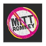 Anti Romney Tile Coaster