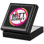 Anti Romney Keepsake Box