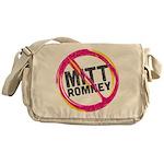 Anti Romney Messenger Bag