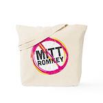 Anti Romney Tote Bag
