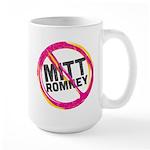 Anti Romney Large Mug