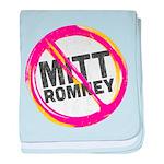 Anti Romney baby blanket
