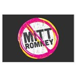 Anti Romney Large Poster