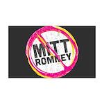 Anti Romney 35x21 Wall Decal