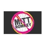 Anti Romney 35x21 Wall Decal