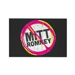 Anti Romney Rectangle Magnet (100 pack)