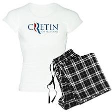 Romney Parody Cretin Pajamas